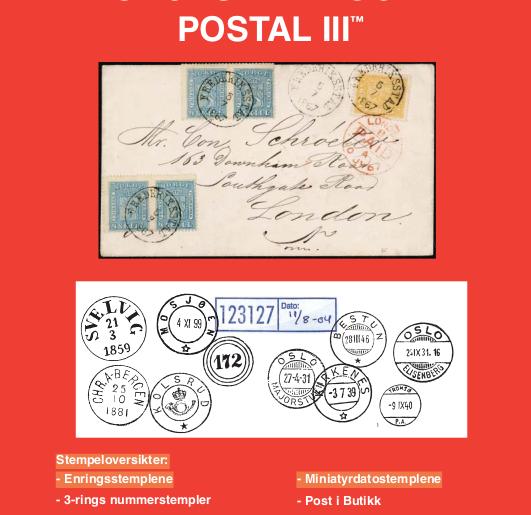 Postal III kan nå bestilles!